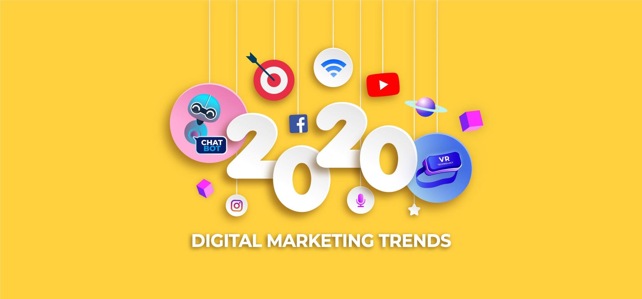 Тренды диджитал маркетинга в 2020 году